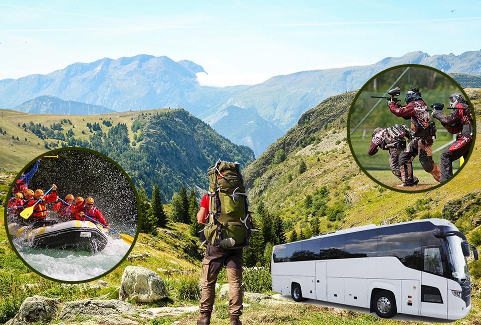 excursions en car organisées par le Crystal Club à l'Alpe d'Huez